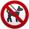 Husdyr forbudt